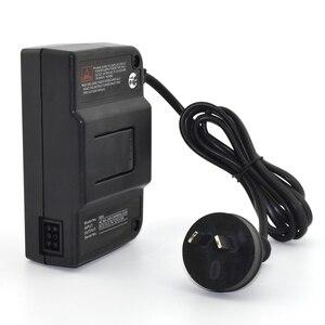 Image 1 - 10 stücke EU/US/AU/UK Stecker AC Adapter Travel Power Adapter Netzteil Kabel Konverter Wand ladegerät Für N64 Spiel Zubehör