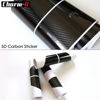 5D الكربون الألياف الجانب تنورة عتبة سباق شريط ل BMW F30 F31 F32 F33 F22 F23 F15 F85 F10 E60 E61 G30 E90 M الأداء ملصقا