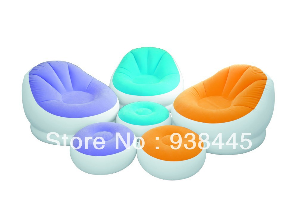 Intex 68572 Inflatable Sofa Beanless Bag Chair In Garden Sofas From