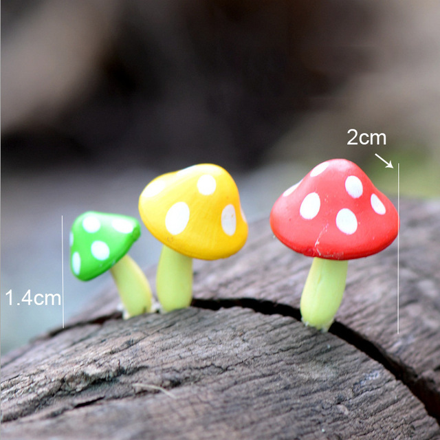 BAIUFOR Flocking Moss Stone Foam Rock Model Fairy Garden Miniatures DIY Terrarium Figurines Desktop Decor Home Accessories 4