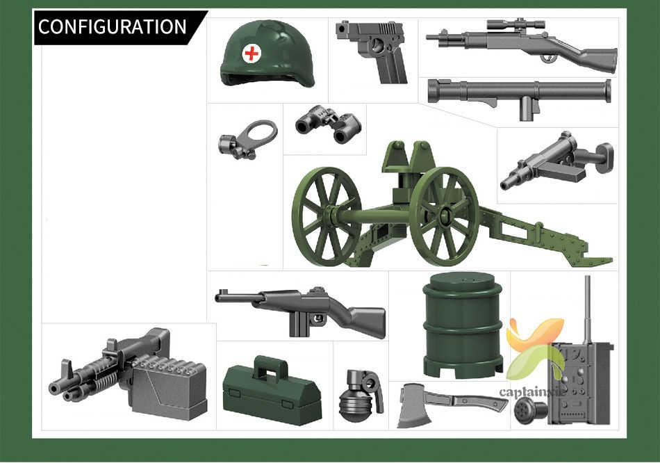 480pcs SWAT Militar Segunda Guerra Mundial Soldados Das Forças Especiais Do Exército Conjunto de Blocos de Construção Tijolos Educacionais Para Crianças