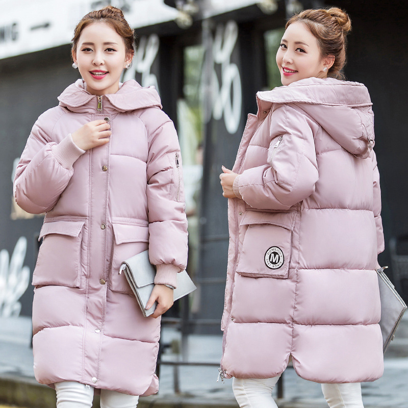 ФОТО  Women Jackets 2016 Winter Parka Casual Military Hooded Coat Winter Jacket Women Cotton Padded Coats Female Clothes wt192