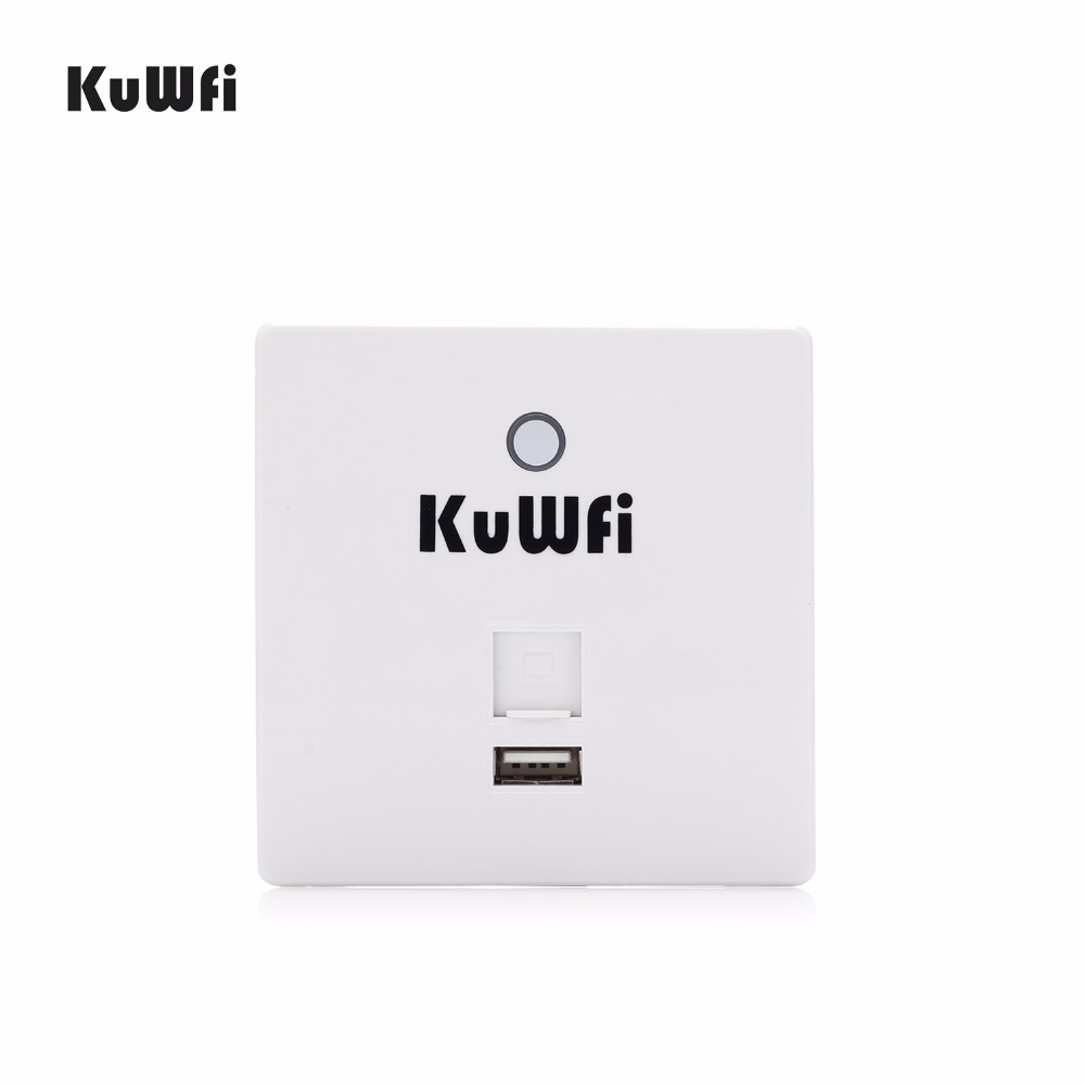 300Mbps Wireless Router In Wall AP Router Indoor Wall Embedded Wireless WiFi Router Repeater Extender With USB Port tp link 300mbbps ap wireless access point indoor wall embedded wireless wifi router repeater tl ap300i dc 9vdc 0 6a dc power