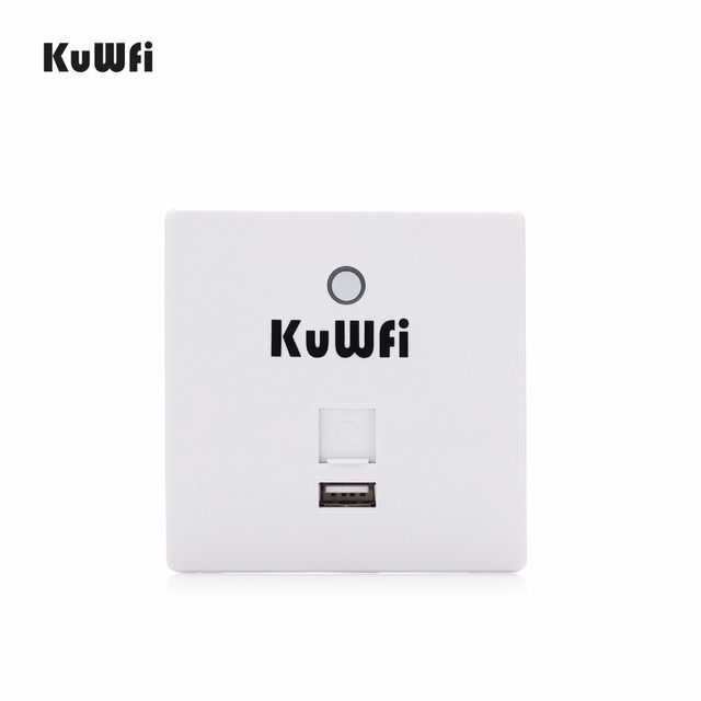 300Mbps Wireless Router In Wall AP Router Indoor Wall Embedded Wireless WiFi Router Repeater Extender With USB Port