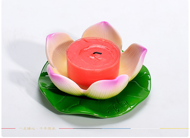 Chinese traditional lotus flower candle holder small tealight candle chinese traditional lotus flower candle holder small tealight candle stand buddhist candlesticks bar home dinner party mightylinksfo
