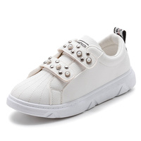 2018 Fashion children Breathable comfortable leather Boys girls Autumn Sport Shoes Kids Lightweight Boys Girls Walking Sneakers Boy's Shoes