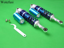 Wotefusi Universal 13.5″ 340mm Air Nitrogen Shock Absorber Clevis For Suzuki Yamaha Cb 750 250 [PA71]