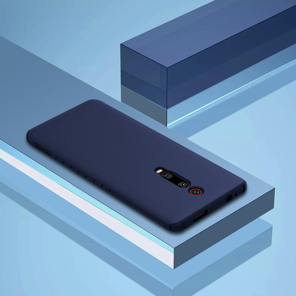 Image 2 - Nillkin płynnego silikonu obudowa do Xiaomi czerwony mi K20/K20 Pro/mi 9 T/mi 9 T Pro miękkie żel gumowe cienkie Slim ochronna futerał na telefonJednostronne etui   -