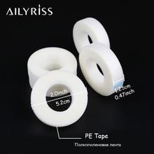 Волокно для наращивание ресниц подушечки для глаз 5 рулонов белая лента нетканый материал под глазные подушечки бумага для накладных ресниц патч инструменты для макияжа