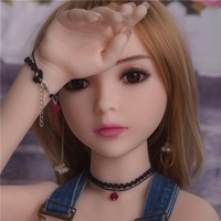 Meselo 100cm Sex Doll Medical Silicone Big Breast Oral Vagina Anal Sex Toys For Men Sexy Girl Japanese Sex doll Adult Product