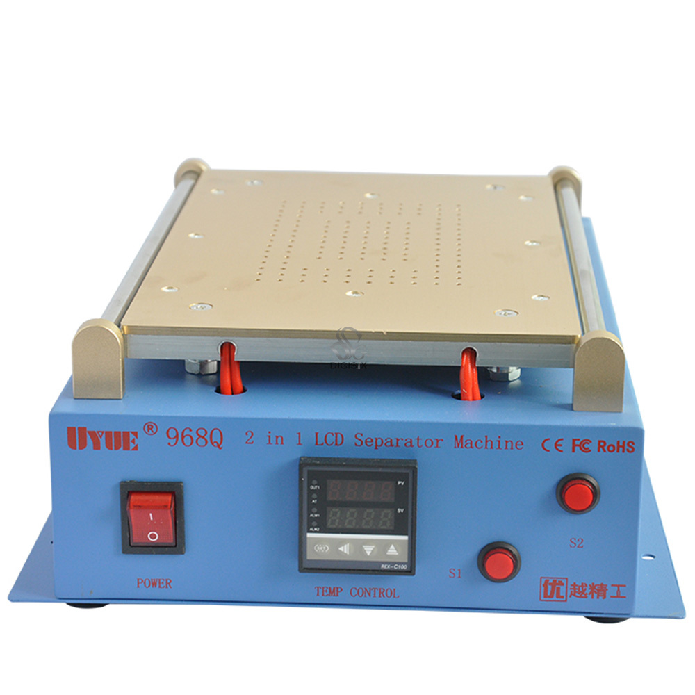 968Q 14 inch 220V Build-In Air Pump Vacuum LCD Separator Machine Screen Repair Machine For iPhone Samsung