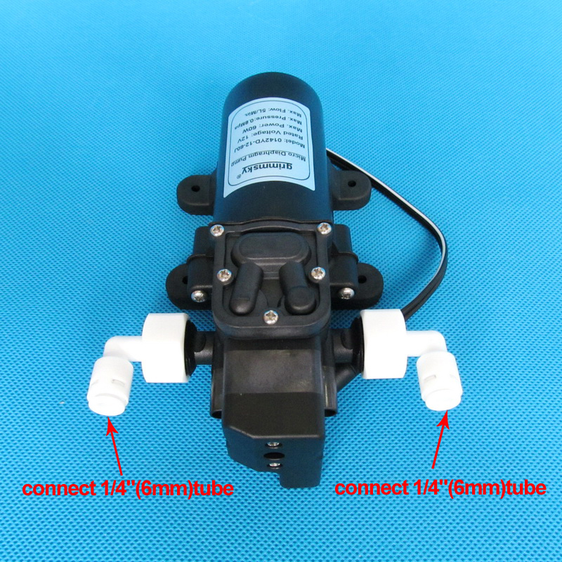 3L Min 30W 12V automatic water booster pump for home water purifier pressurized in Pumps from Home Improvement