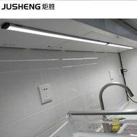 LED Alüminyum için Koştu Sıcak Satış Dış Aydınlatma 5 w Led doğrusal Kabine Şerit Işıkları 3528 Çip Dokunmatik Işık Lambalar ücretsiz nakliye