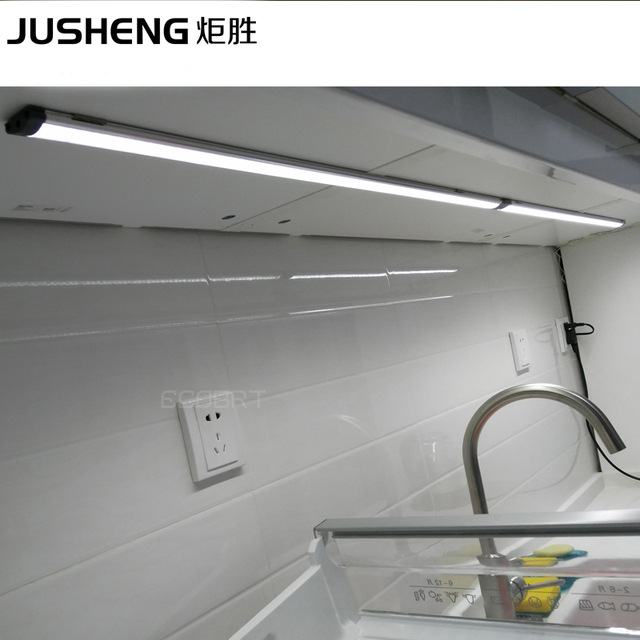 LED Aluminum Rushed Hot Sale Outdoor Lighting for 5w Led Linear Cabinet Strip Lights 3528 Chip Touch Light Lamps free Shipping