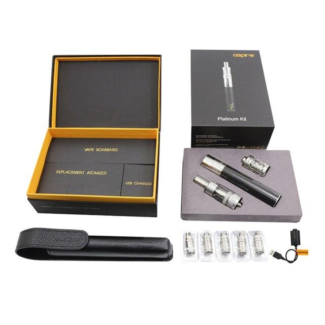15 комплектов/пакет оптовая цена новые электронные сигареты kit aspire платиновый комплект с atlantis бак и cf sub ом батареи
