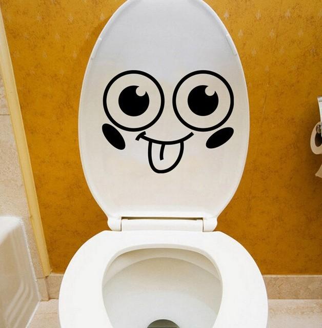 Schönes Design Smiley Lustige Toilette Bad Aufkleber Sitz Decor ...