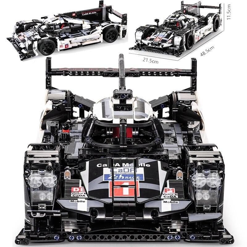 CADA Mobile Technic 1586pcs Super Sport Car Speed Champions City MOC Creator Building Block Bricks DIY