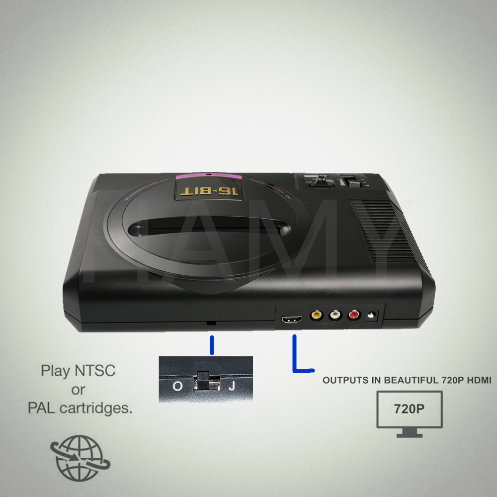 cheapest New Coolbaby D76 8bit AV version tv video game console for game console Support game card