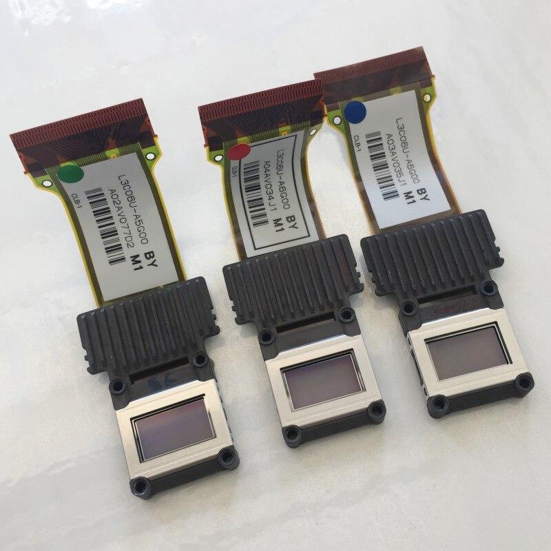 3 pièce/lot Panneau LCD D'origine L3C06U-A6G00 L3C06U-A5G00 pour Epson EH-TW6500C/TW6000/TW5900 projecteur rouge bleu vert