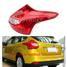 MIZIAUTO Rear Tail Light Lamp for Ford Focus Hatchback 2012 2013 2014 Left Right Not Bulb Car Styling Accessories