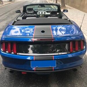 Image 3 - Juego de 6 pegatinas decorativas para la luz trasera del coche, calcomanías decorativas para Ford Mustang, accesorios para el coche