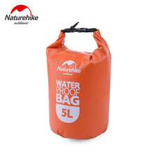 Naturehike Outdoor Waterproof Bags Camping Dry Organizer Lightweight Portable Drifting Kayaking Swimming Bag 2L 5L