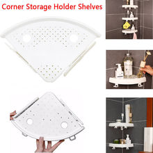 цена на Corner Bathroom Shelf Storage Shampoo Holder Grip Storage Wall Mount Holder Wall Holder Bathroom Shelf  Hot Sale