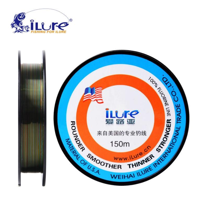 ilure brande súper fuerte 150mt marca bestnote 100% cable de alimentación de fluorocarbono japonés monofilamento cable de la carpa línea de pescado herramienta pesca