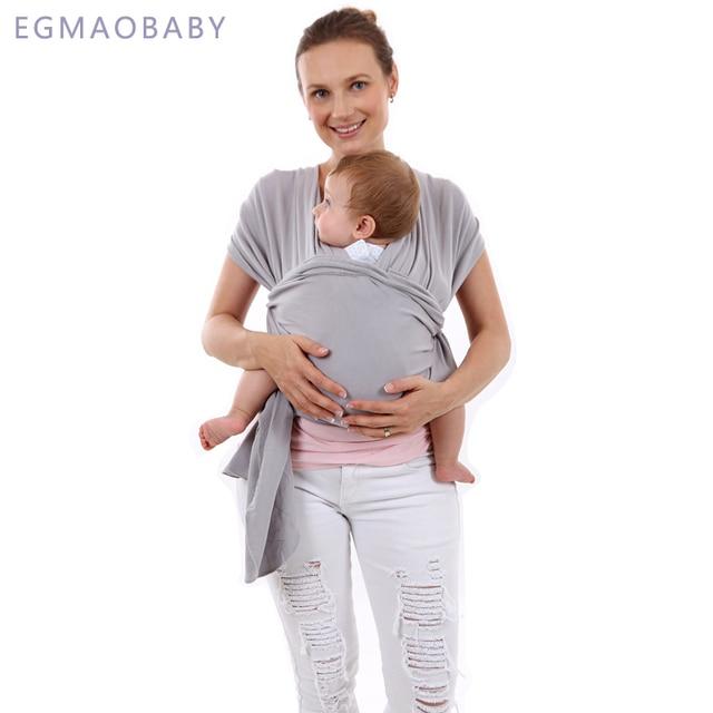 EGMAOBABY מנשא קלע רך יילודים תינוקות לעטוף לנשימה לעטוף Hipseat להניק לידה הנקה נוחה כיסוי