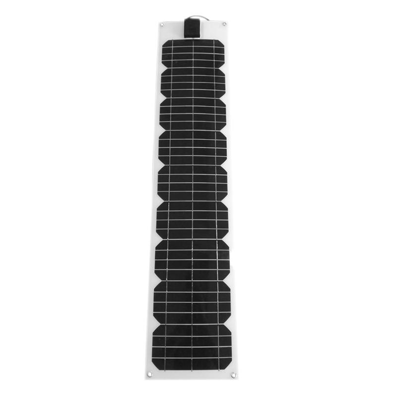 Panneaux Solaire flexível 60 Pannelli Solari 36 volt watt Monocristalino Solar Usb Carregador Solar Bateria Do Telefone Do Carro De Acampamento