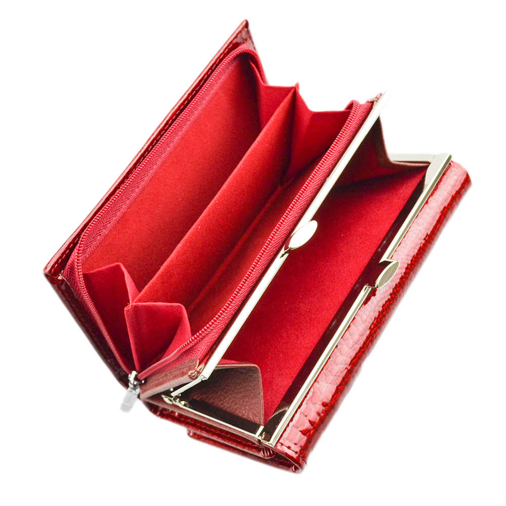 HH для женщин Элитный бренд модные пояса из натуральной кожи короткие бумажник Женский Аллигатор Hasp леди портмоне кошельки Малый