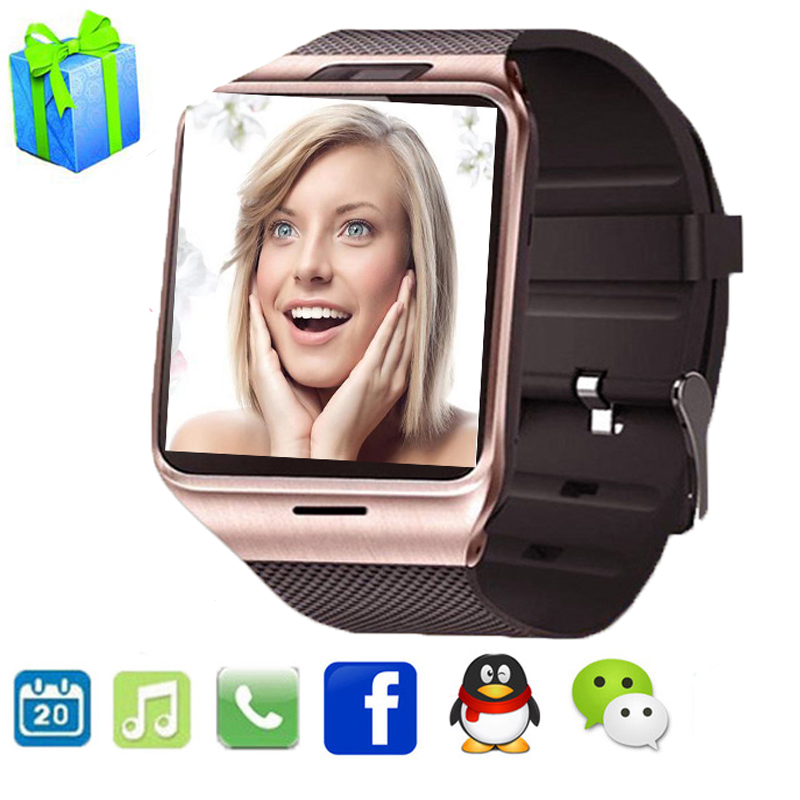 Wearable Device Health Pedometer Mp3 Waterproof Android Gv18 Smartwatch With SIM Card Mobile GSM Bluetooth Reloj