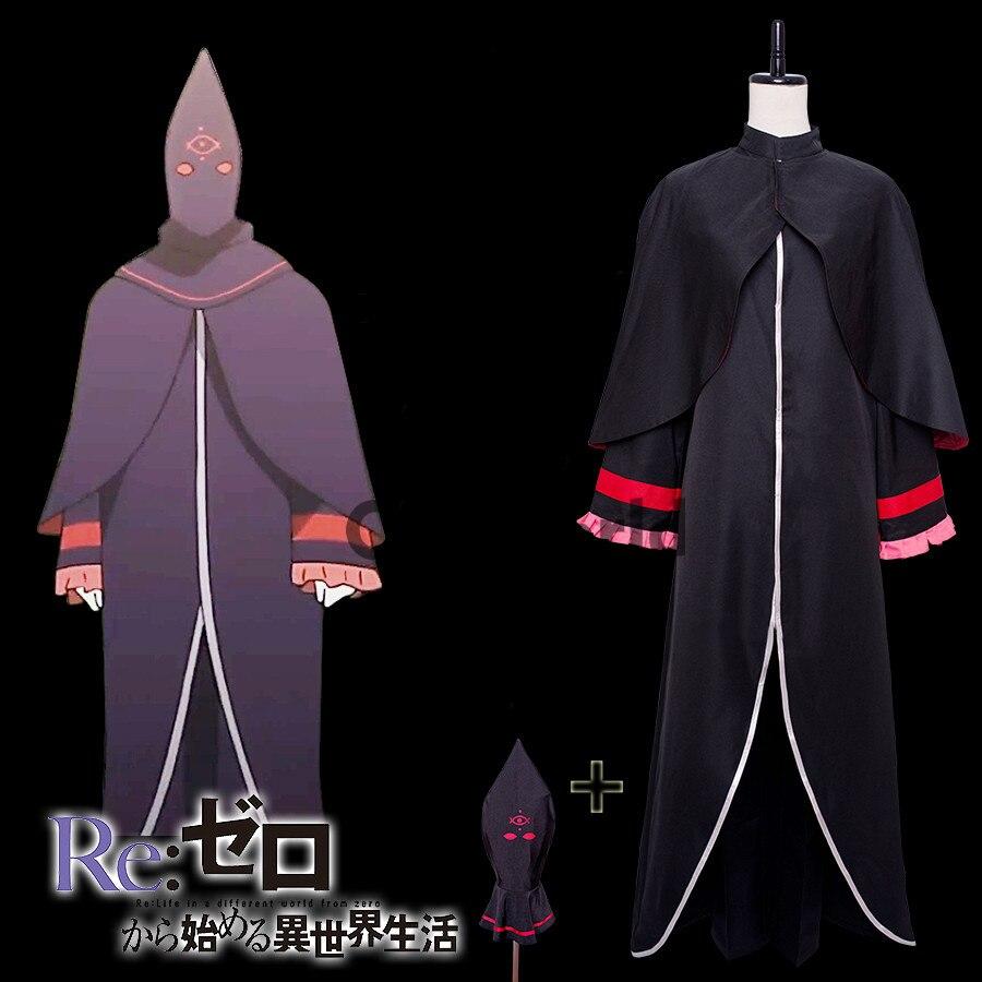 Re Zéro Kara Hajimeru Isekai Seikatsu Bételgeuse Romanee Conti Manteau Veste Cappa Chapeau Pantalon Uniforme Tenue Cosplay De Manga Costumes