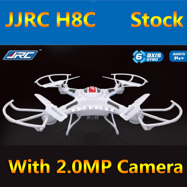 (In Stock)Original JJRC H8C 4CH RC Quadcopter With 2MP Camera  2.4GHz  (with more batteries) Free Shipping free shipping epcs1si8n epcs1n sop8 original in stock