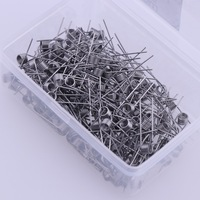 100 200 Pcs Electronic Cigarette Rda Atomizer Wick Wire Coil Premade Coil Kanthal A1 Pre Coiled
