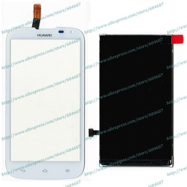 Novo branco Original substituir digitador Touch Screen + LCD para Huawei G610 G610s C8815 telefone