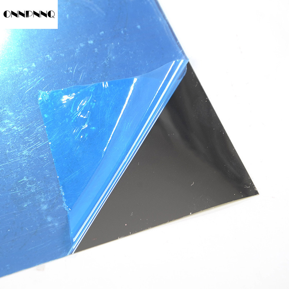 ONNPNNQ 60*100 cm Feuille Reflex Miroir Stickers Muraux Film Auto-adhésif DIY Décor À La Maison