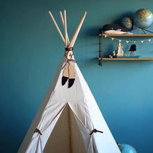 Палатка подвесная кровать настенная деревянная печать перо веревка украшение скандинавские INS реквизит игрушка для детей Рождественский подарок на день рождения