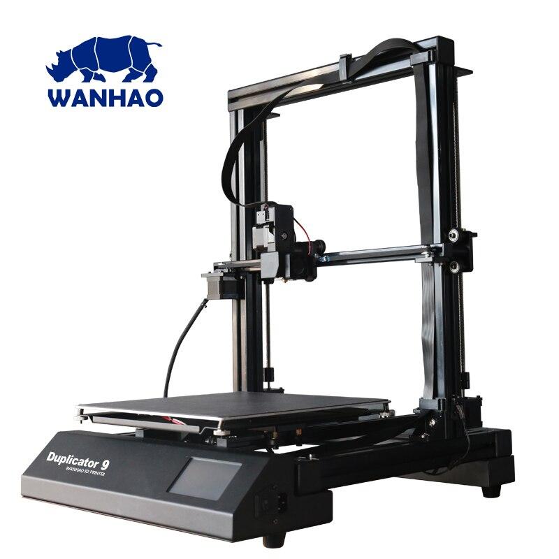 ¡Nuevo 2018! Impresora duplicadora Wanhao 3D 9 MARK i-fdm 3d comprar directamente desde la fábrica
