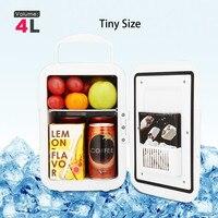 Mini Voiture Réfrigérateur Congélateur Refroidisseur Chauffe-2 Type Portable Universel Mobile Réfrigérateur