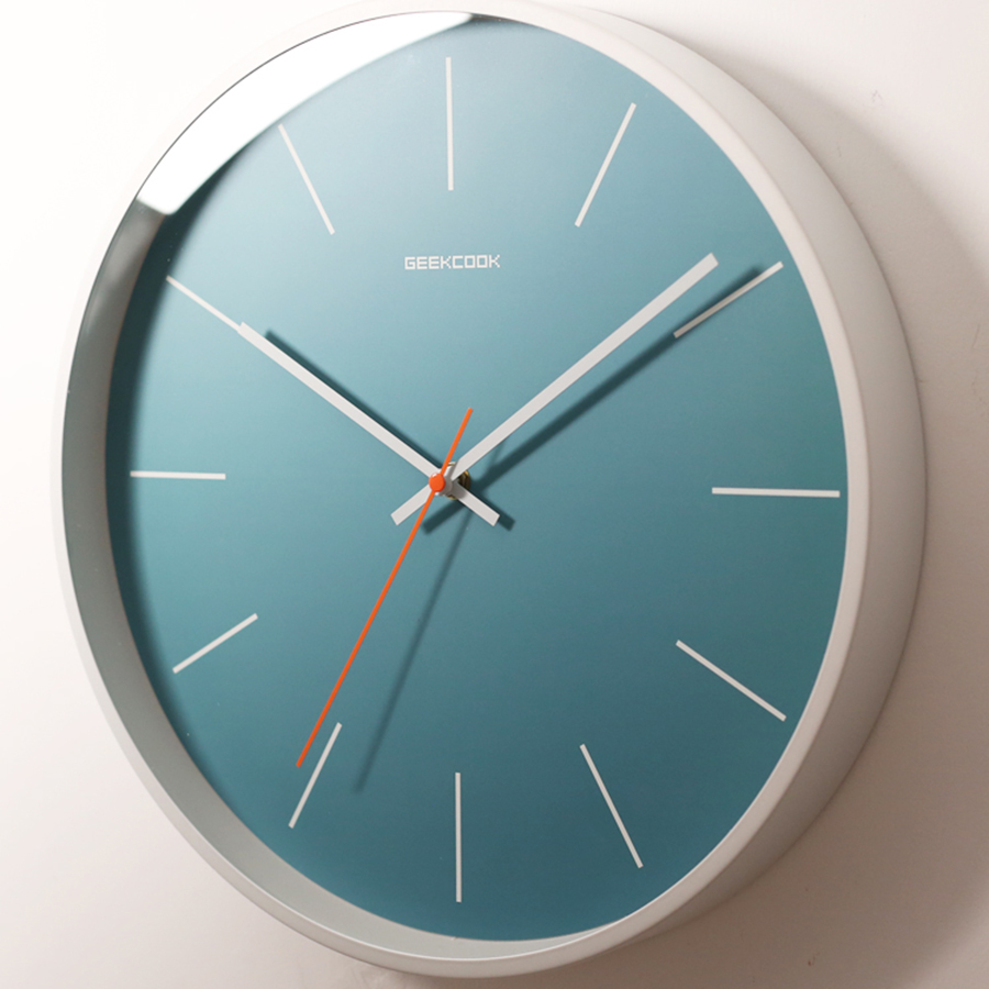 Modern Nordic Design Clock Wall Home Decor Digital Silent Clock Kitchen Mechanism Wall Decorations Living Room Watch Home 50Q014