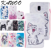 Patterned Premium Flip PU Leather Wallet Case Cover For