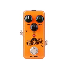 NUX Konsequent Digital Delay Guitar Effect Pedal Dotted 8 / Simple Delay Modes Mini Core Series Stompbox has Re-defined delay стоимость