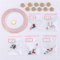 2017 New Electronics Starter Kit Sticker Physics Experiment Circuit Conductive Copper Foil Production Science EL Products