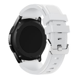 Image 4 - 22Mm Wrist Strap Voor Samsung Galaxy Horloge 3 45Mm Silicone Horlogeband Armband Band Voor Huawei Horloge GT2 Gt 46Mm 42Mm Gt 2e 2 Pro