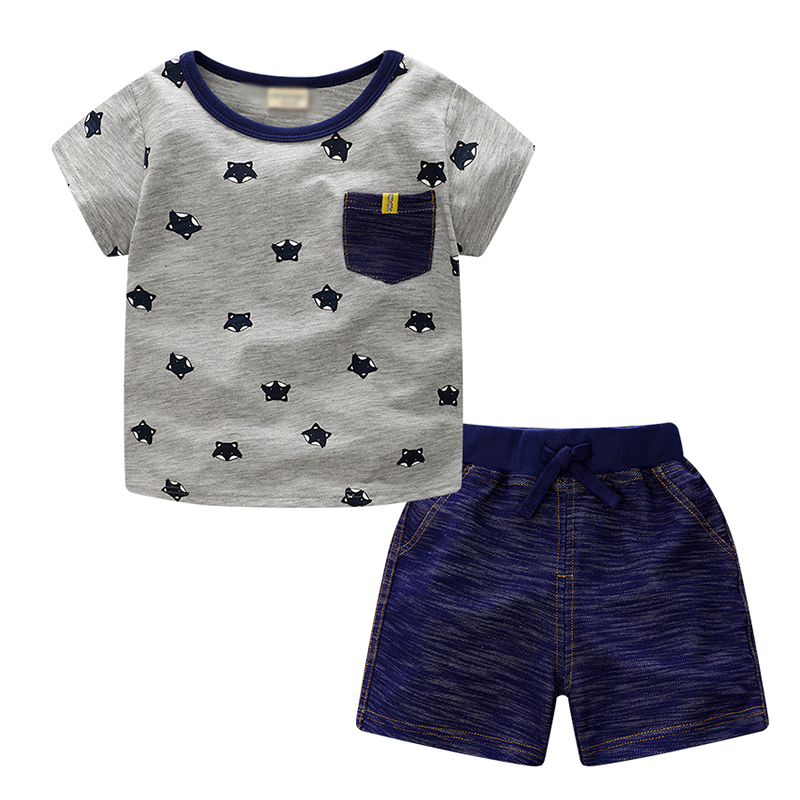 Kids cloths Boys Sport Suits Pants +T-shirt 2pcs Baby Boy Clothes Boys Clothing Sets casual kids hoodies clothes boys clothing 2pcs cotton shirt pants toddler boys clothing children suits baby boy clothes sets
