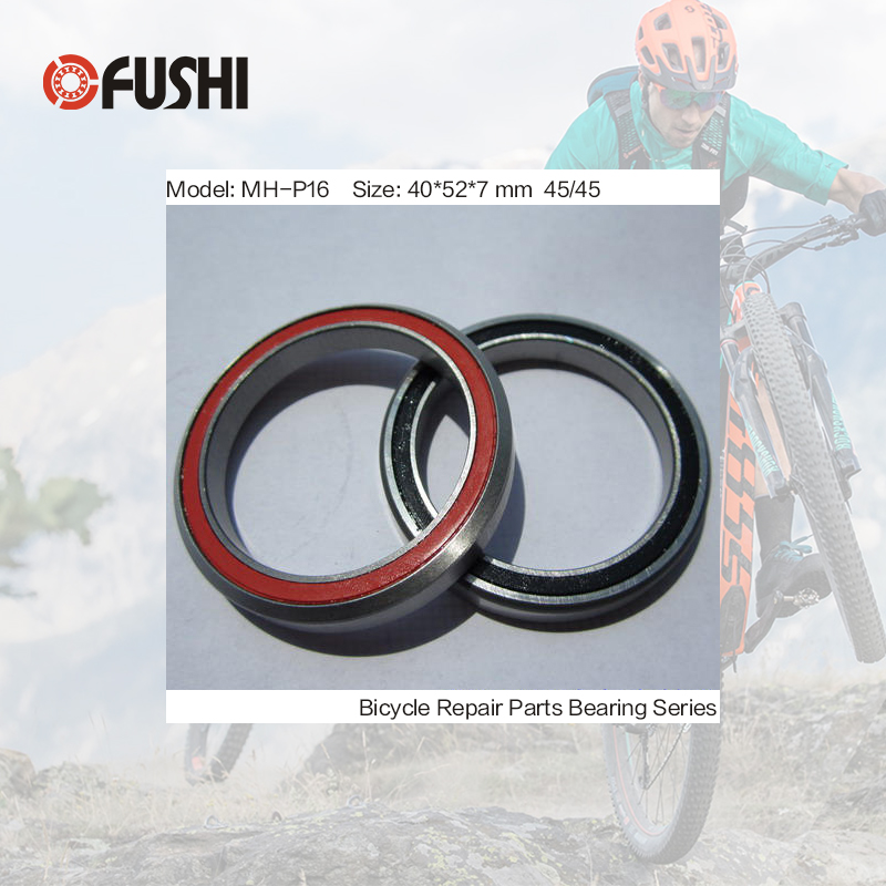 MH-P16 Bearing 40*52*7 mm 45/45 ( 1 PC ) ABEC-3 1-1/2 Inch Bicycle Hub Front Rear Hubs Wheel Ceramic Balls Bearings цена