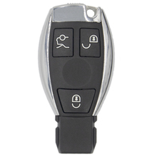 WhatsKey 3 Button Remote Key Fob Case Cover For Mercedes For Benz A B C E S Class W203 W204 W205 W210 W211 W212 W221 W222