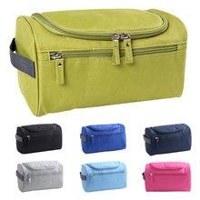 Unisex Waterproof Nylon Toiletry, Travel and Cosmetic Bag Organizer