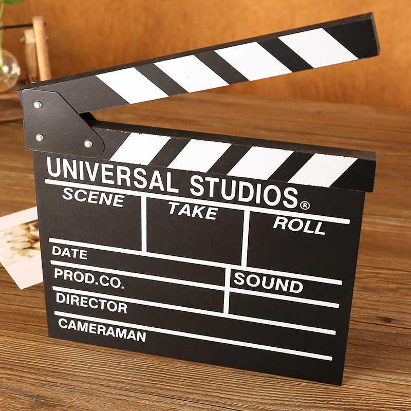 Oggetti di scena di Film Targa di legno Vintage Pittura Segno e Bar Della Decorazione Della Parete Retrò In Metallo Art Decorazioni Per La Casa